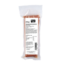VANTASTIC FOODS TOCINO AHUMADO VEGANO EN UNA PIEZA, 250G