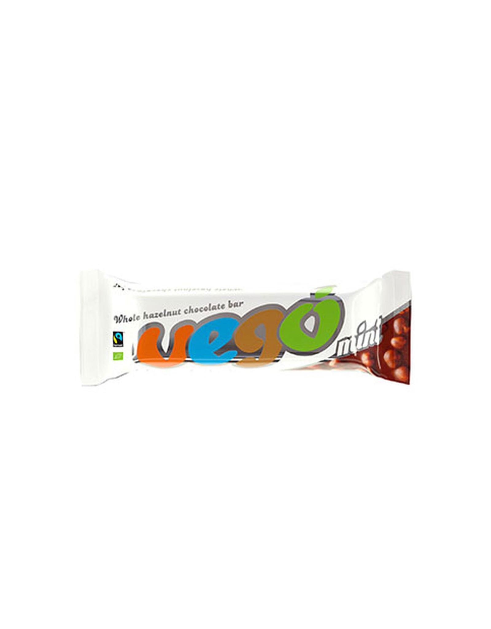VEGO Whole Hazelnut Chocolate Bar, 65g BIO