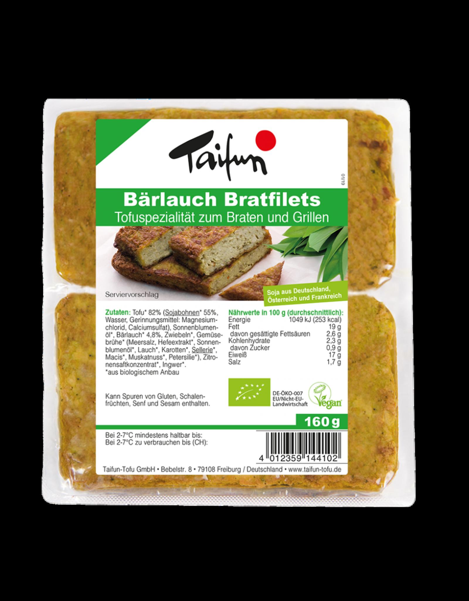 TAIFUN FILETES DE TOFU CON AJO SILVESTRE BIO, 160 g