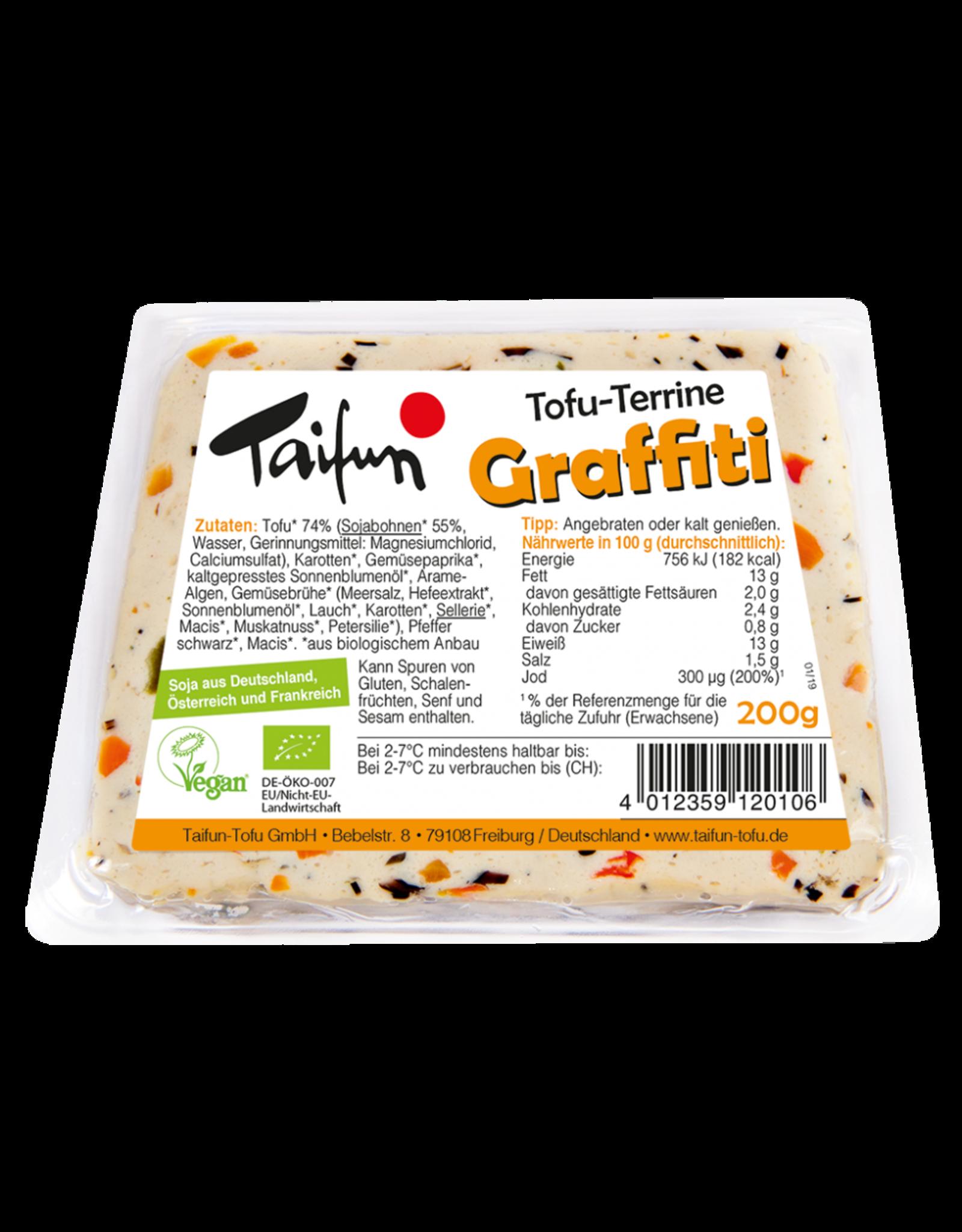 TAIFUN TOFU-TERRINA GRAFFITI, BIO, 200g