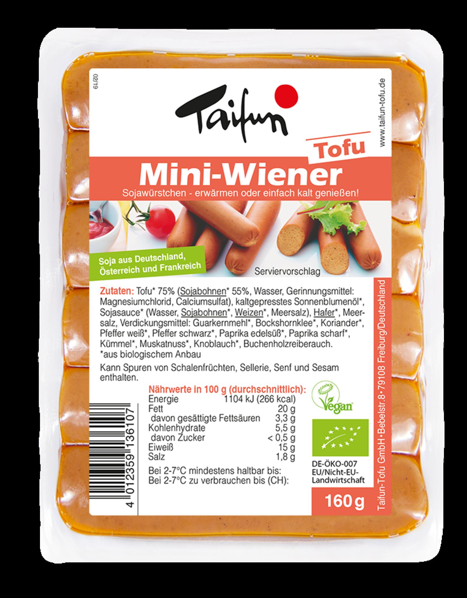 TAIFUN MINI-SALCHICHAS, BIO, 160g