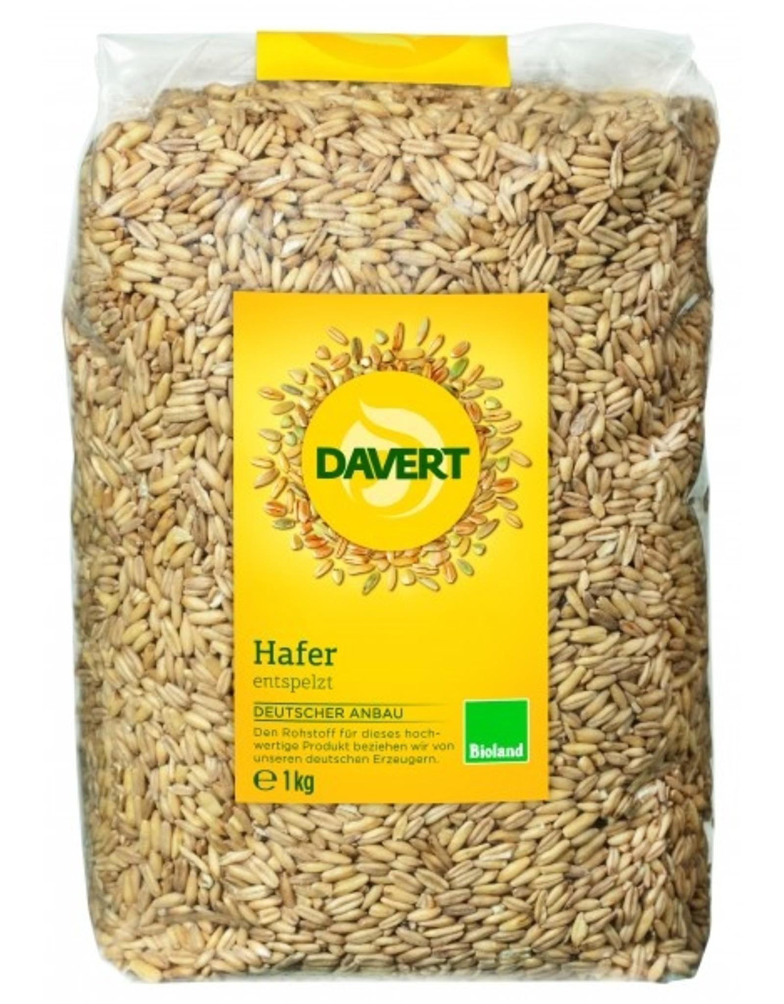 Davert  Avena descascarada Bioland 1kg
