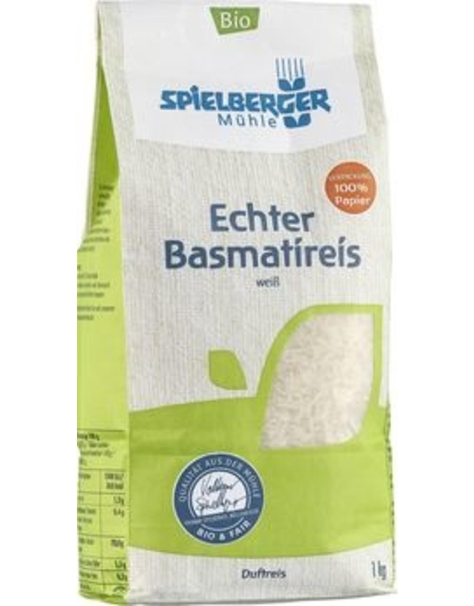 SPIELBERGER Basmatireis, weiß, kbA 1kg