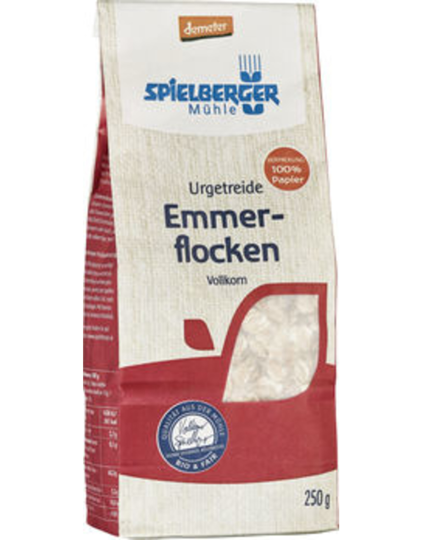 SPIELBERGER Emmerflocken, demeter 250g