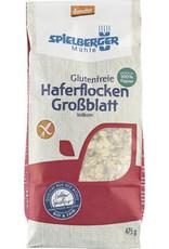 SPIELBERGER Glutenfreie Haferflocken Großblatt, demeter 475g