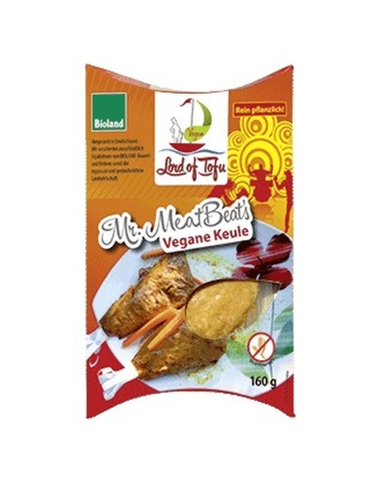 Lord of Tofu Mr.Meatbeat's Pata vegana 160g