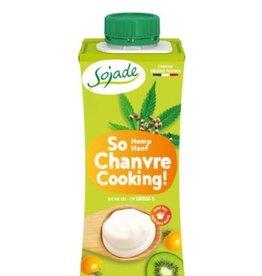 SOJADE Crema de cáñamo para cocinar, 200ml