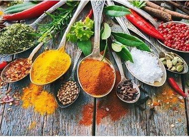 Ingredientes de cocina & especias