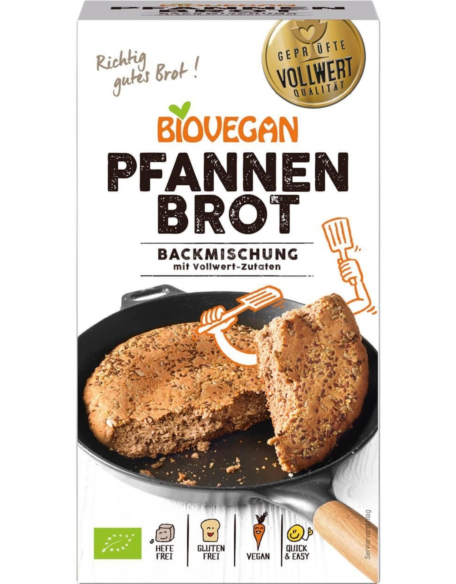 BIOVEGAN Brotbackmischung Pfanne, BIO, 330g