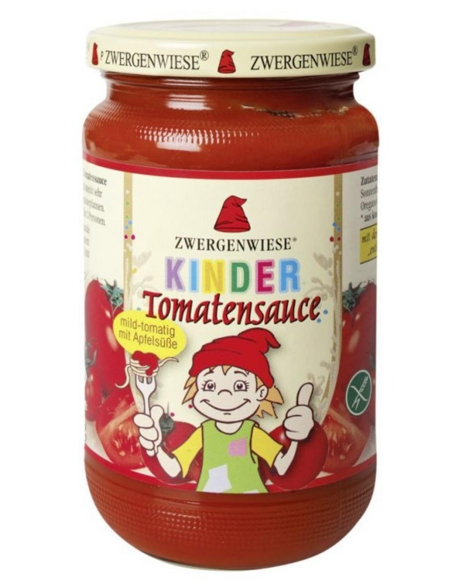 ZWERGENWIESE Kinder Tomatensauce, 340ml