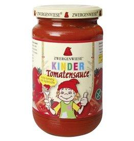 ZWERGENWIESE Salsa de tomate para niños, 340ml