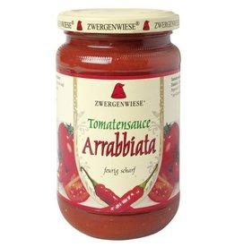 ZWERGENWIESE Salsa de tomate Arrabbiata, 340ml