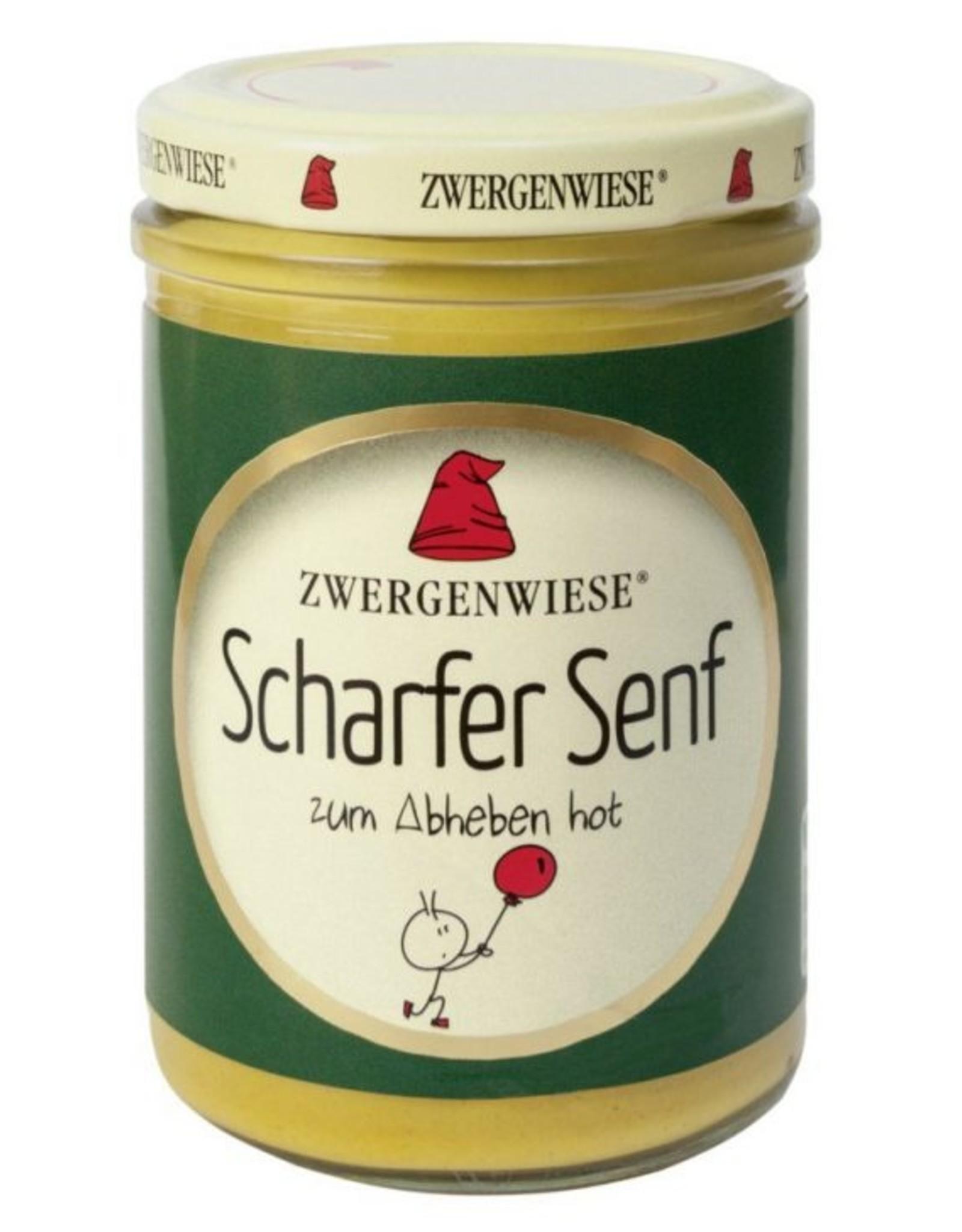 ZWERGENWIESE Scharfer Senf, 160ml