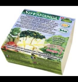 Soyana Alternativa al queso griego con hierbas, 200g