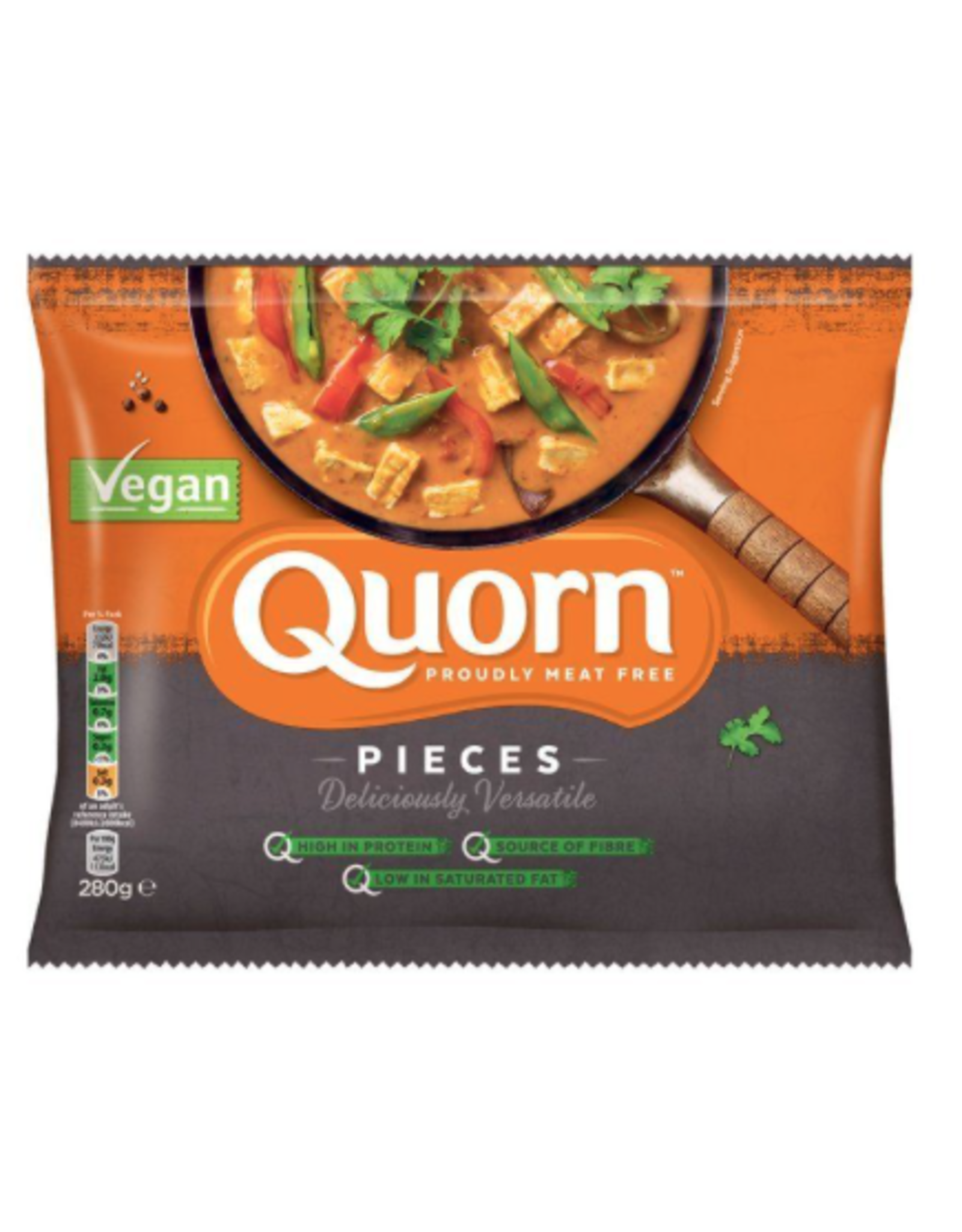 Quorn Veganer-Stückchen, 280g  ❄️❄️❄️
