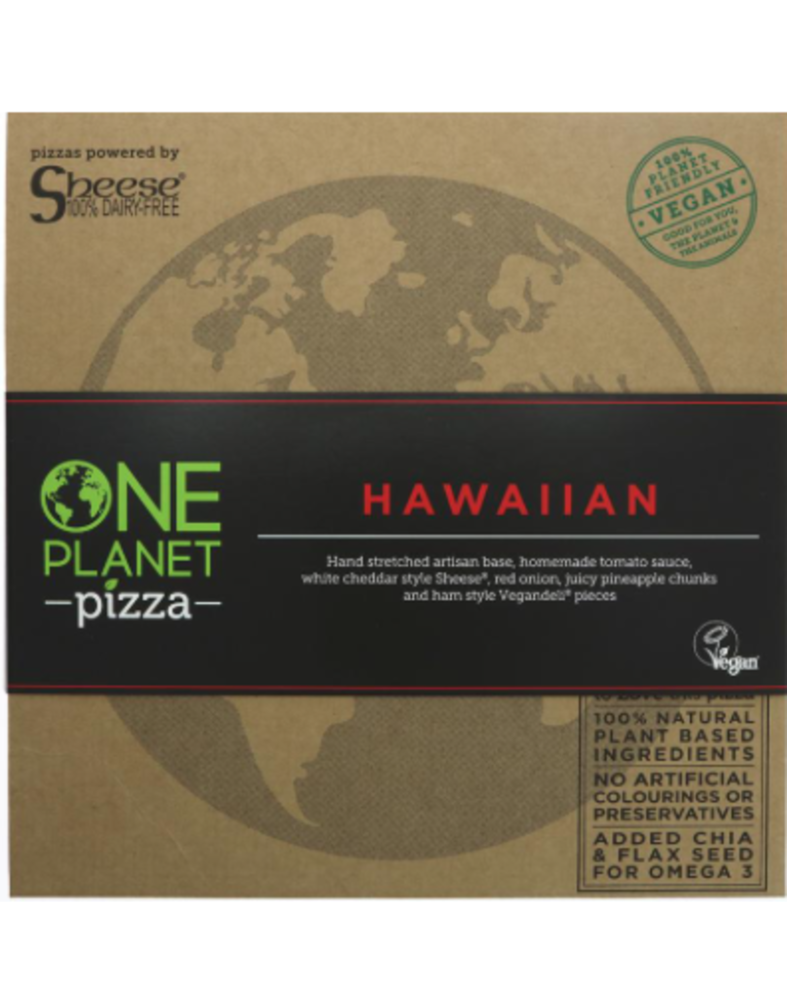 One Planet Pizza Pizza Haiwana, 455g  ❄️❄️❄️