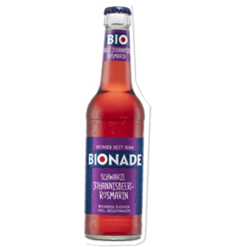 BIONADE Schwarze Johannisbeere-Rosmarin, 330ml