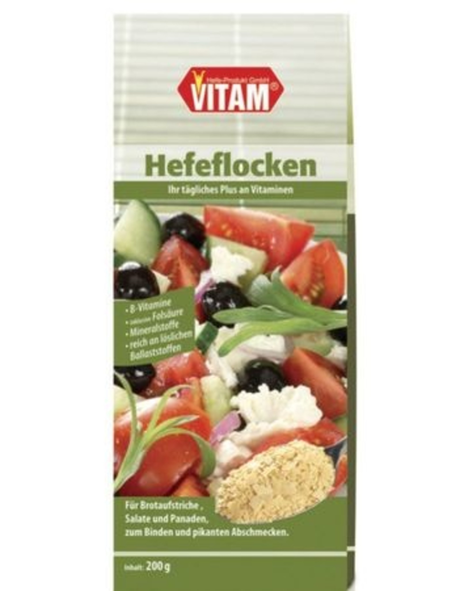 VITAM Hefeflocken salzfrei-natriumarm, 200g