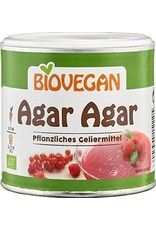 BIOVEGAN Agar Agar, pflanzliches Geliermittel,  BIO, 100g