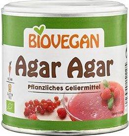 BIOVEGAN Agar Agar, agente gelificante vegetal, BIO, 100g