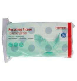 """memo Papel higiénico """"tejido reciclado"""" de 2 capas"""