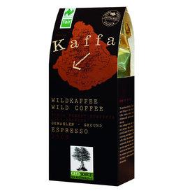 Café espresso silvestre Kaffa molido, 250g