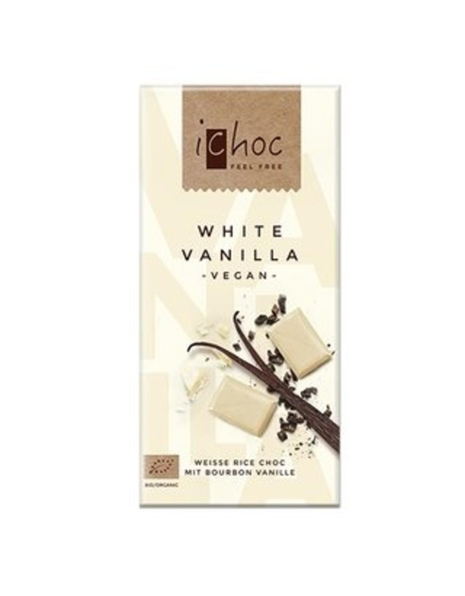 iChoc White Vanilla weiße Rice Choc 80g