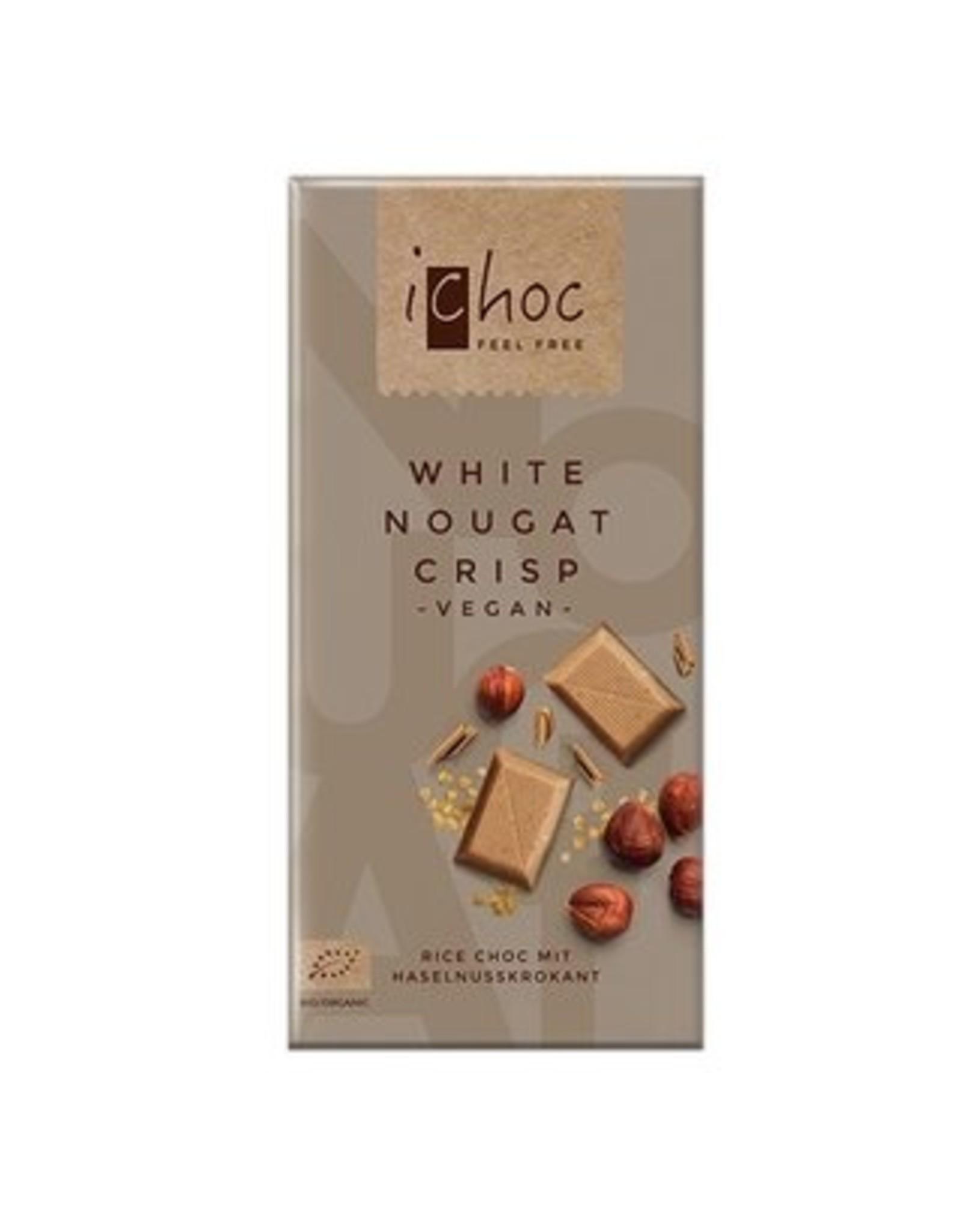 iChoc White Nougat Rice Choc 80g