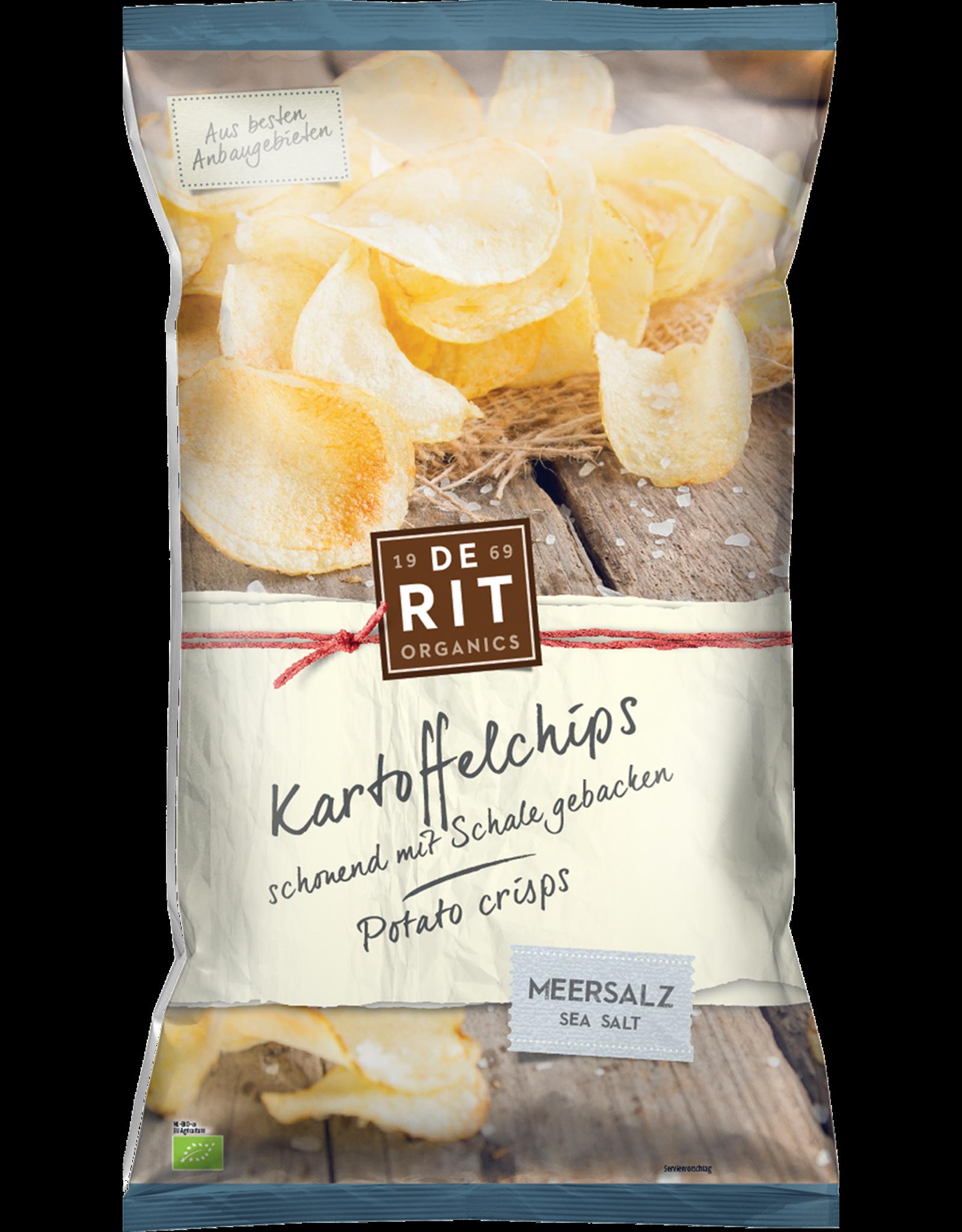 DERIT Kartoffelchips Meersalz 125g