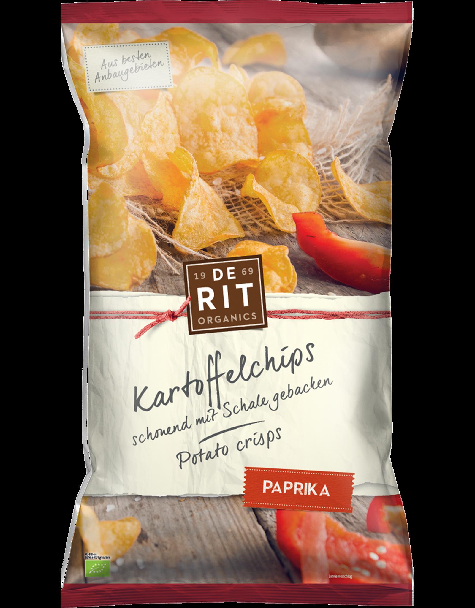 DERIT Kartoffelchips Paprika 125g