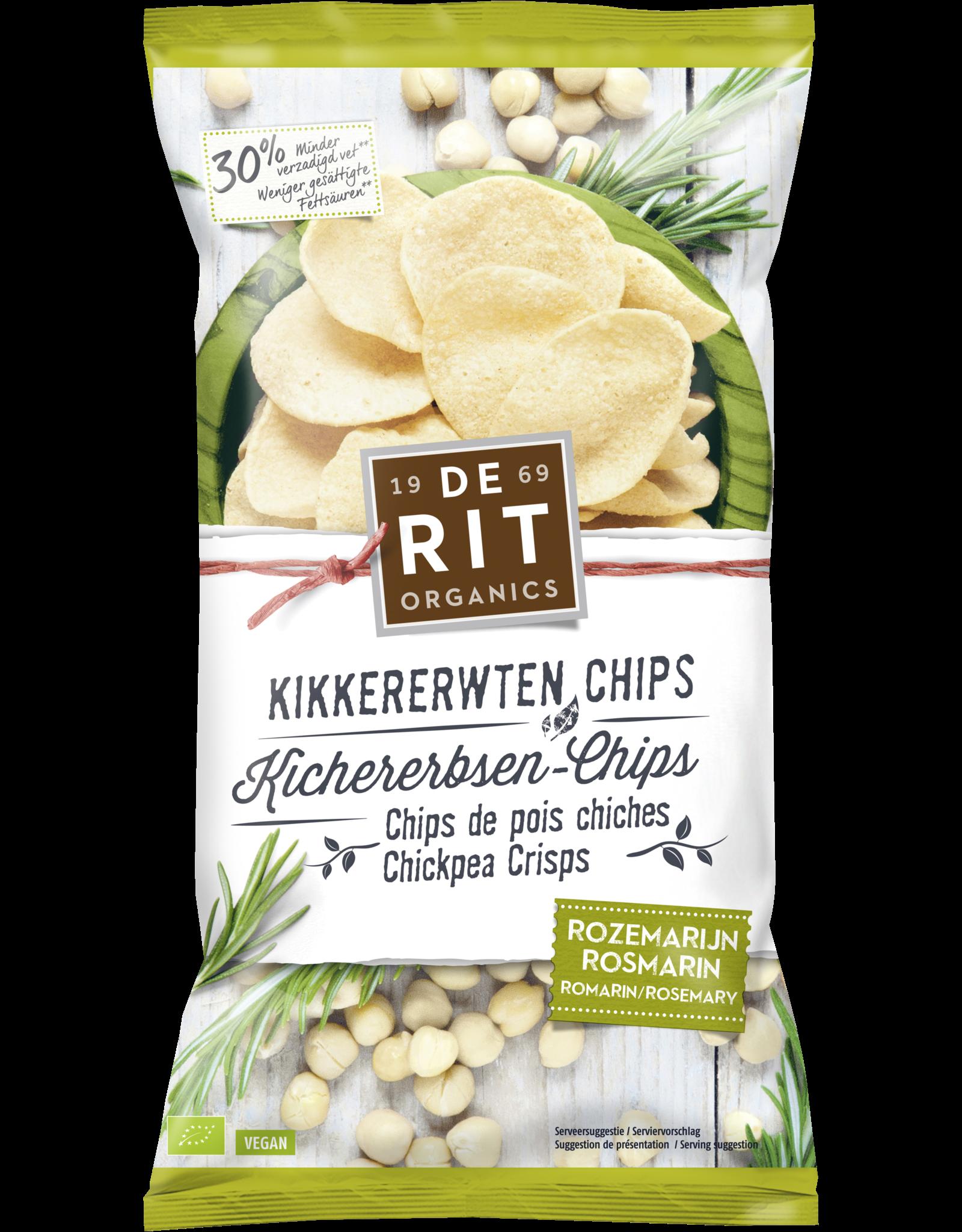 DERIT Chips de garbanzos con romero 75g