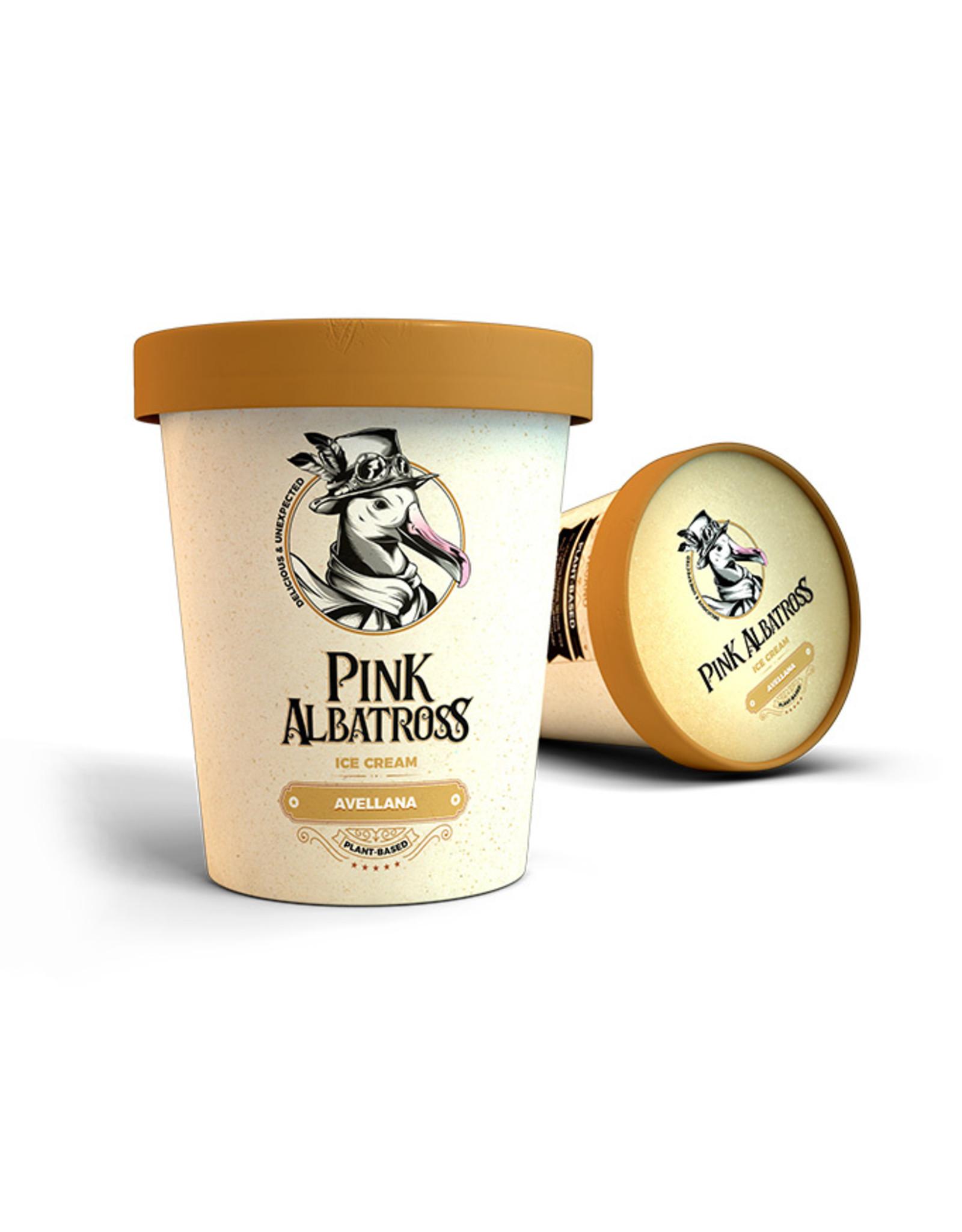 PinkAlbatross Haselnuss-Eiscreme 450ml