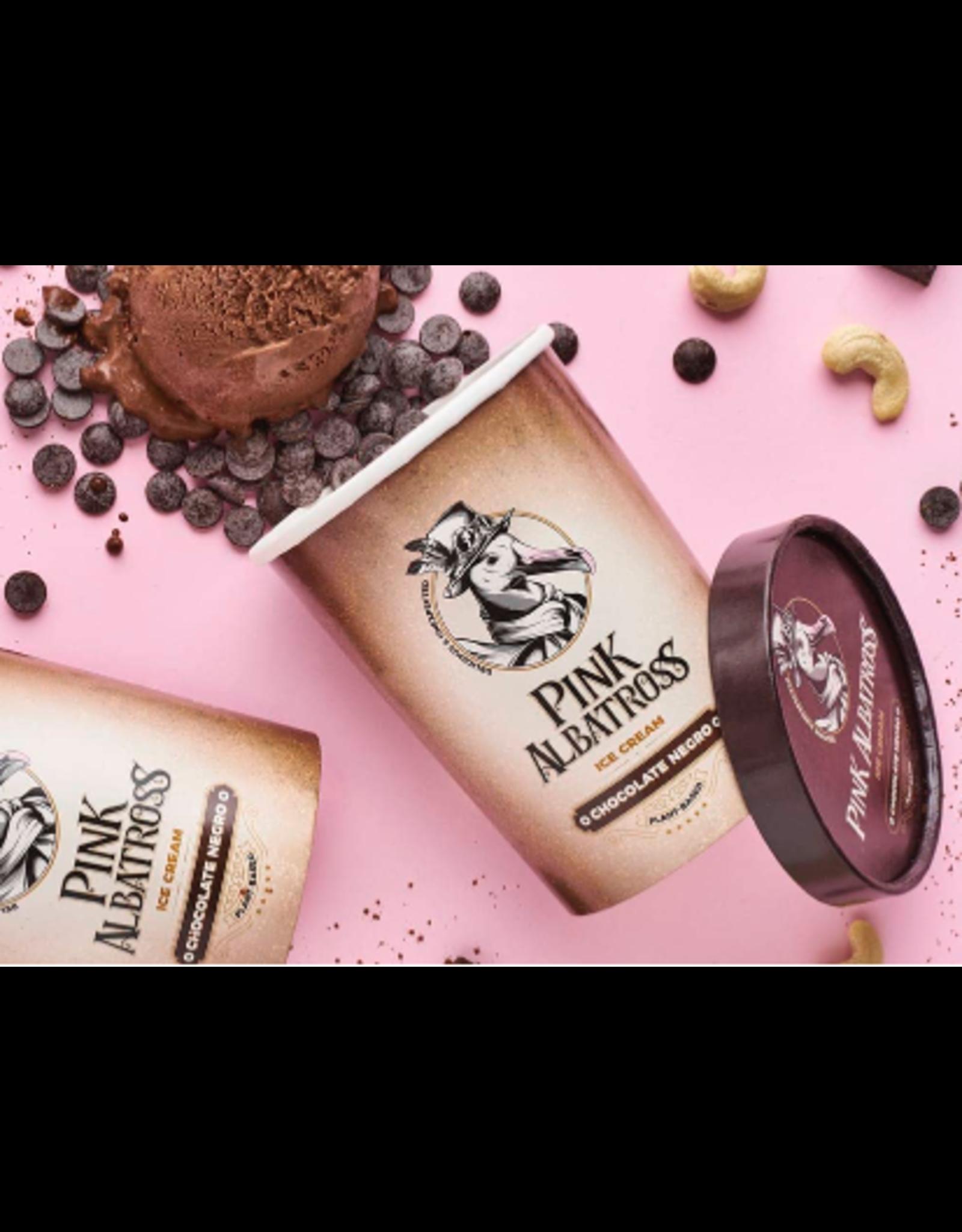 PinkAlbatross Dunkle Schokolade-Eiscreme 450ml