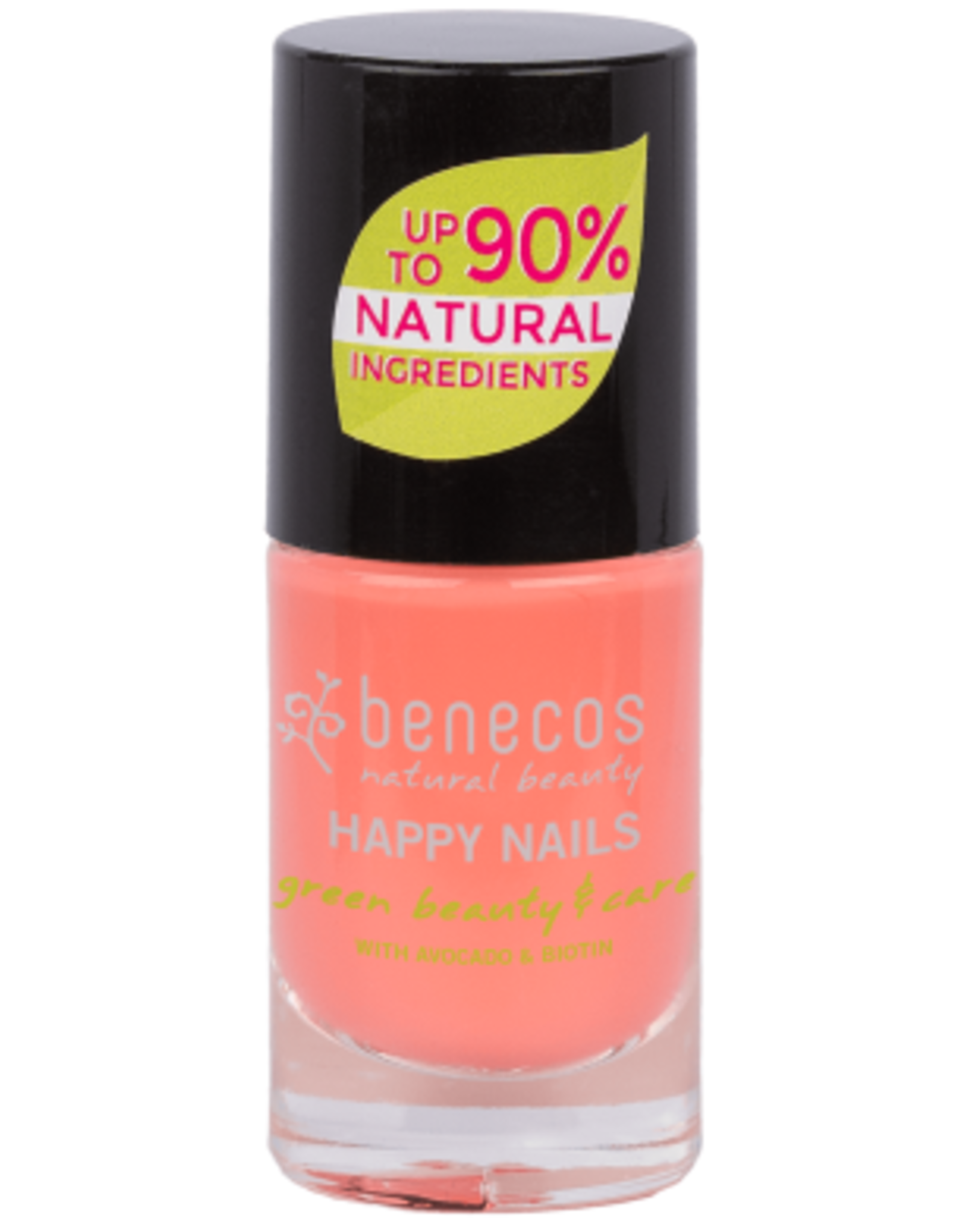 benecos NAIL POLISH peach sorbet - 8 FREE, 5ml