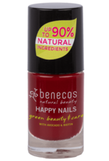 benecos NAIL POLISH cherry red - 8 FREE, 5ml