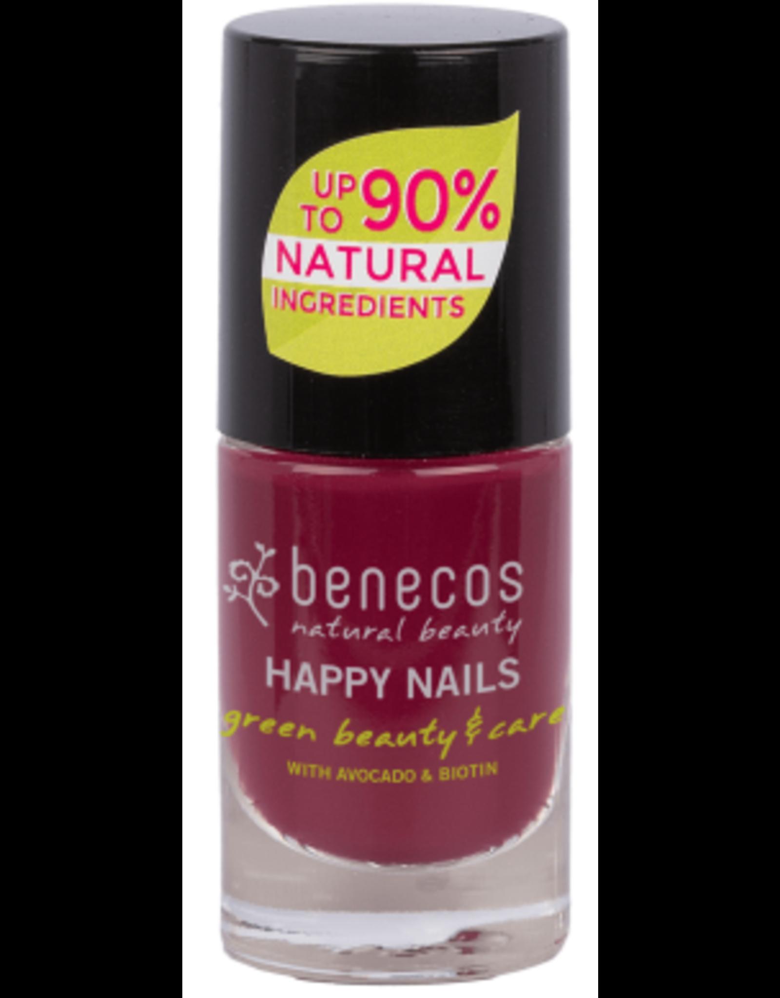 benecos NAIL POLISH desire - 8 FREE, 5ml