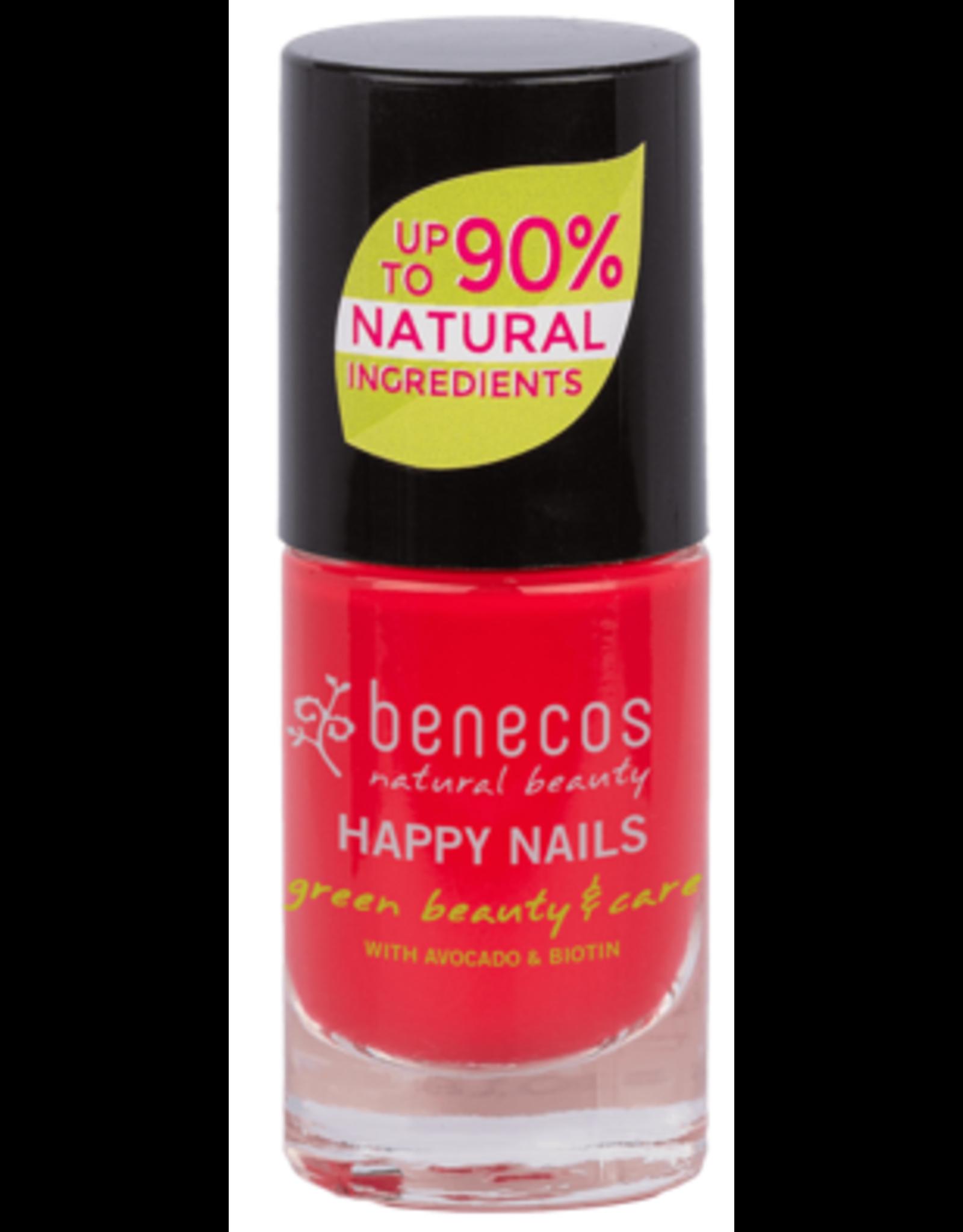 benecos NAIL POLISH hot summer - 8 FREE, 5ml