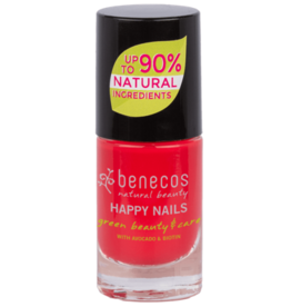 benecos NAIL POLISH hot summer - 8 FREE, 5ml