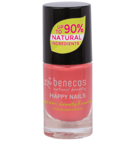 benecos NAIL POLISH flamingo - 8 FREE, 5ml