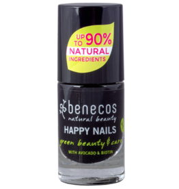 benecos NAIL POLISH licorice - 8 FREE, 5ml