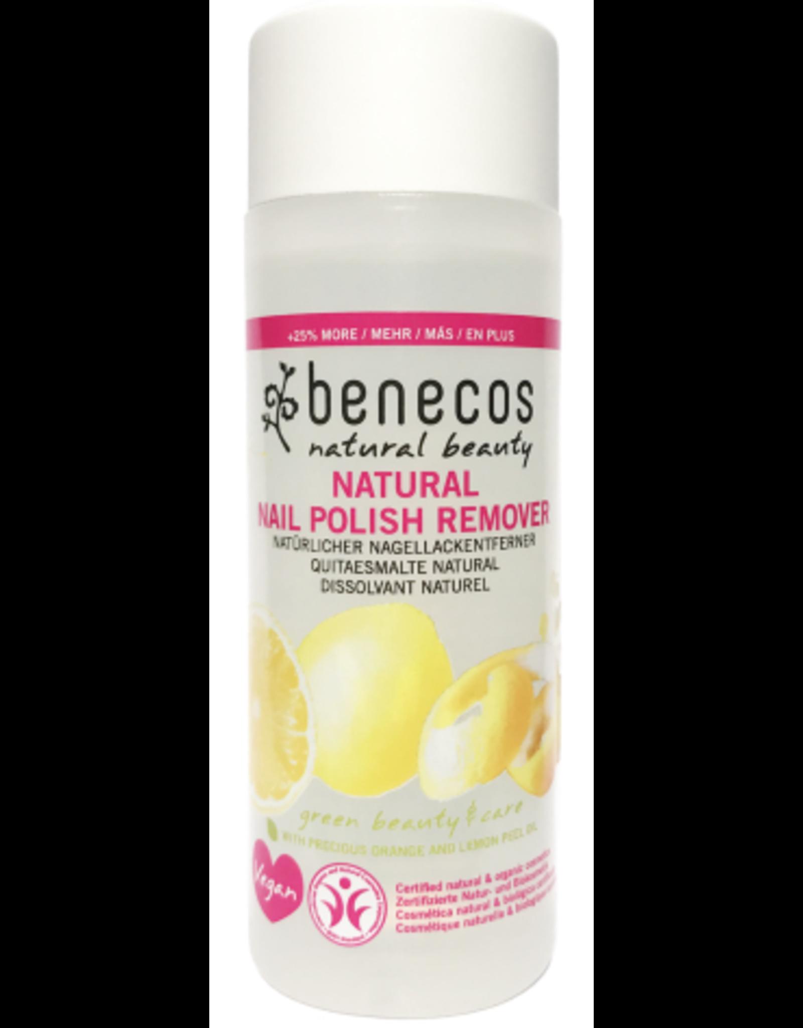 benecos NATURAL NAIL POLISH REMOVER, zertifizierte Naturkosmetik (BDIH) 125ml