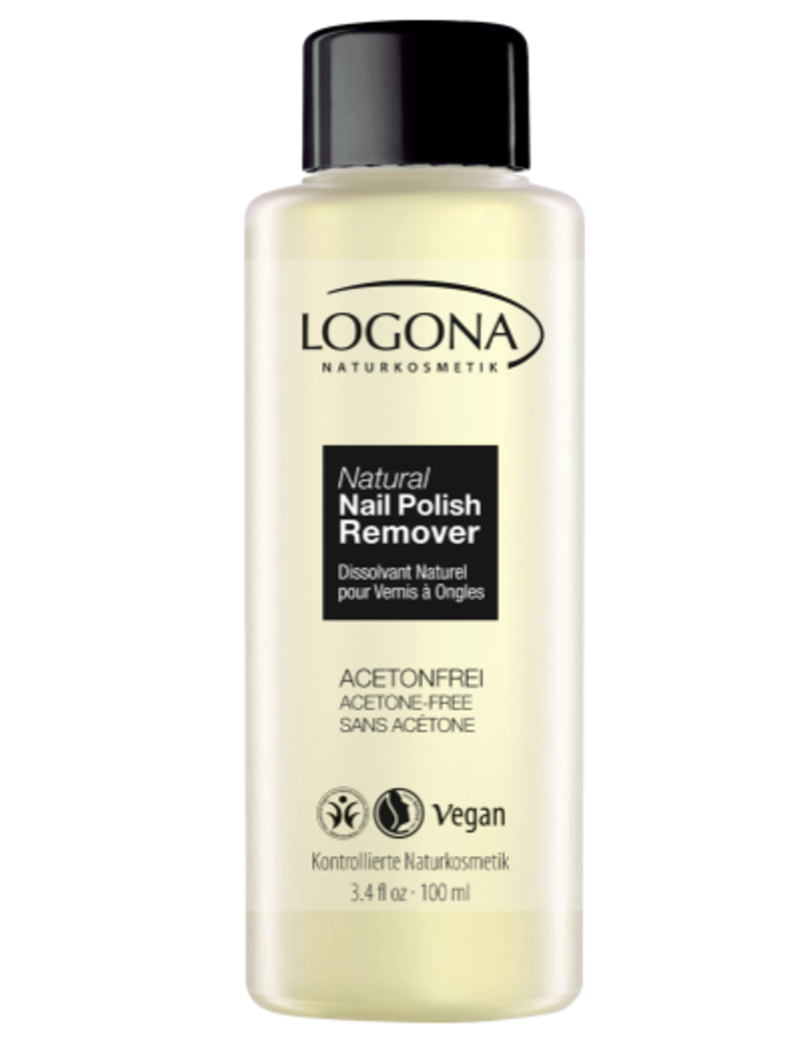 Logona Natural Nail Polish Remover 100ml
