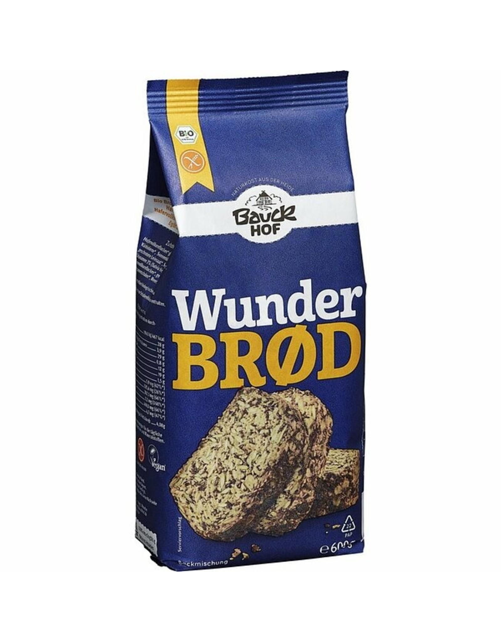 Bauckhof Wunderbrød sin gluten Bio