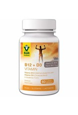 "Raab Vitalfood Vitamin B12 & D3 Lutschtabletten ""Waldbeere"" 60Stk"