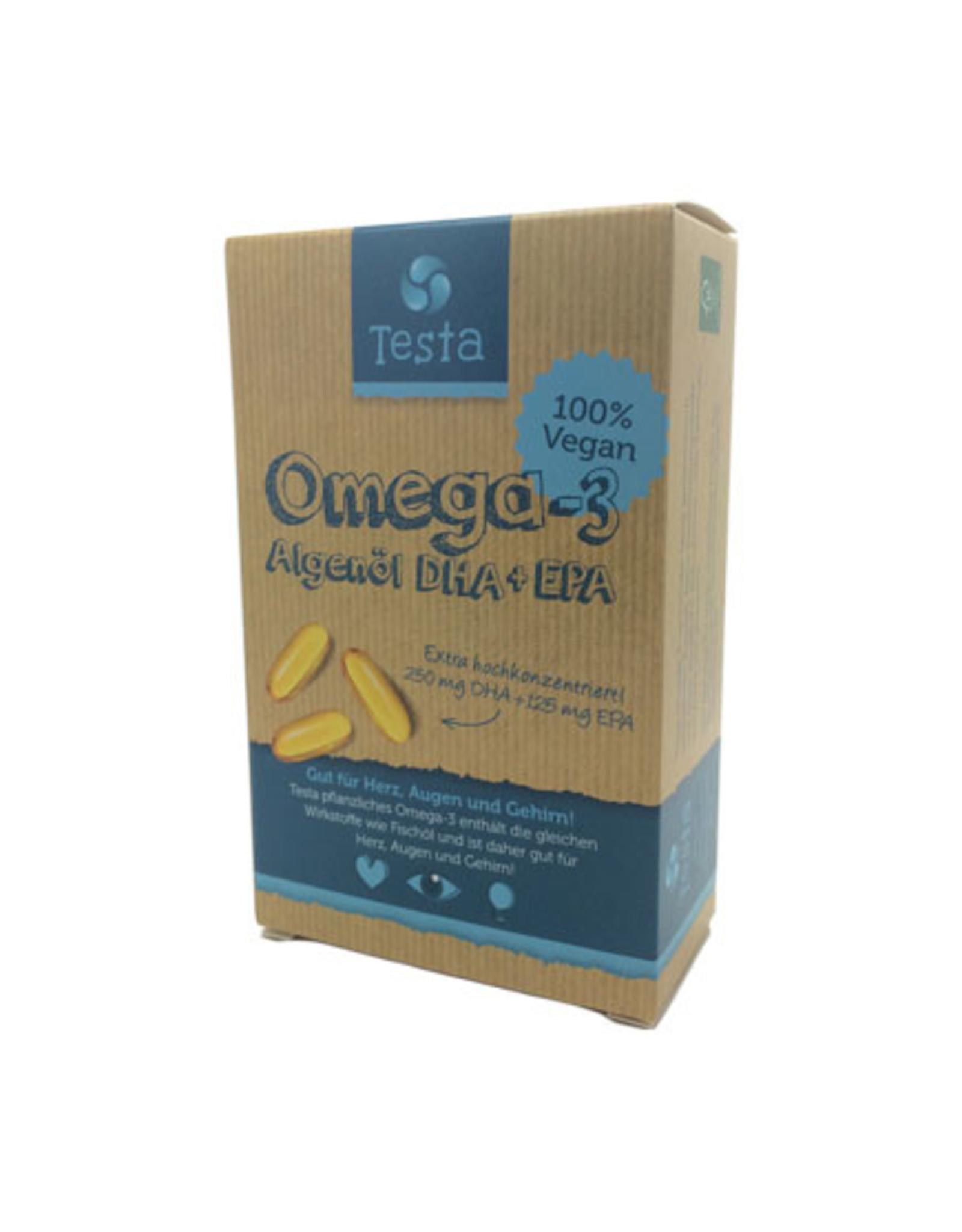 TESTA OMEGA-3 DHA + EPA, 45 CÁPSULAS