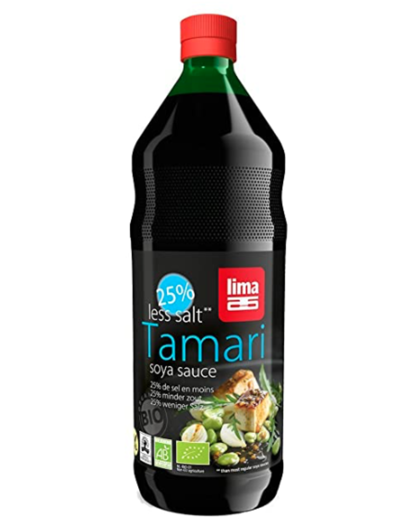 Lima Tamari 25% weniger Salz, 1000ml