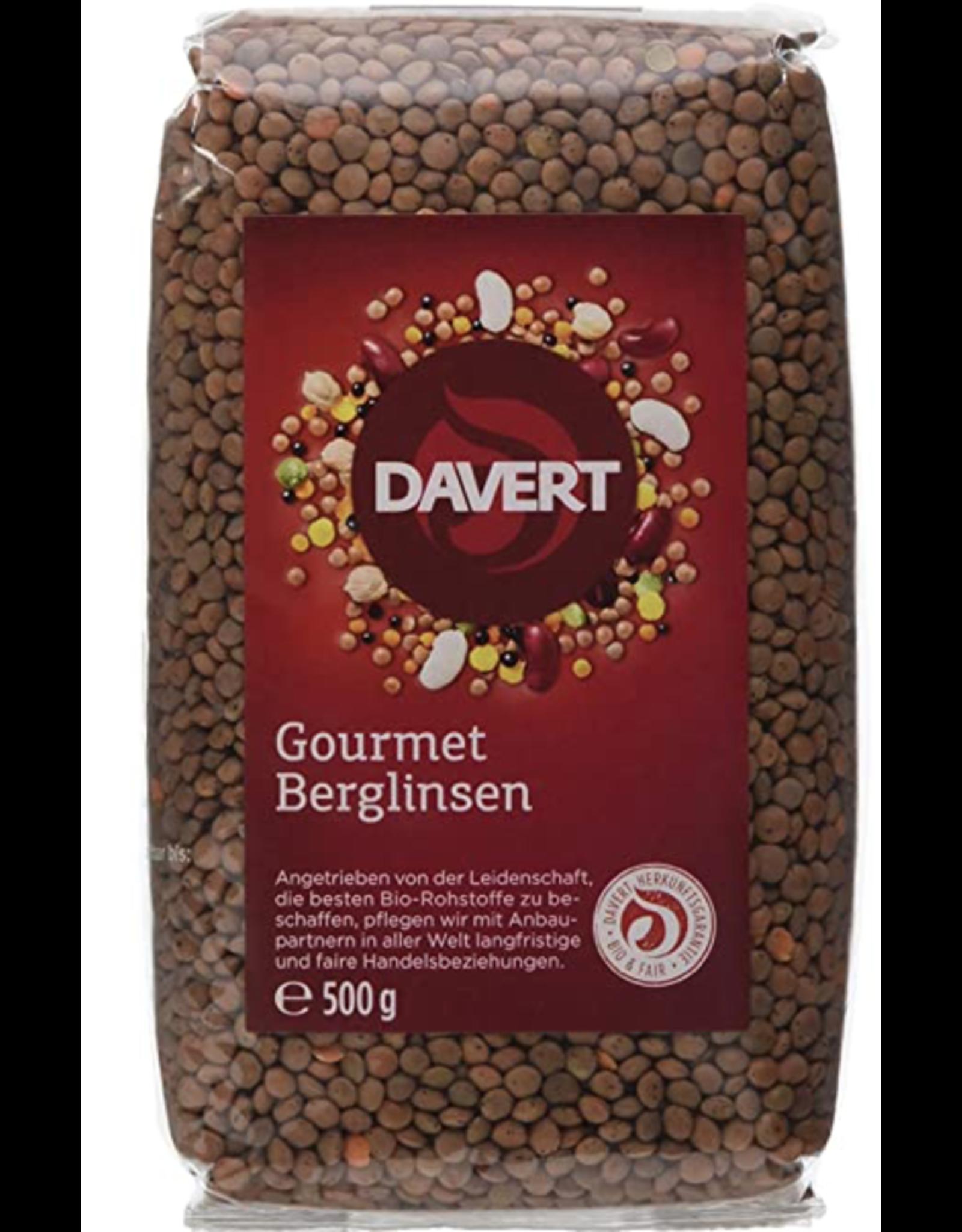 Davert  Gourmet Berglinsen 500g