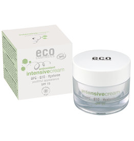 eco cosmetics Intensivcreme LSF 15 OPC, Q10 & Hyaluron 50ml