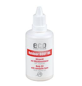 eco cosmetics Outdoor Körperöl mit Mückenschleier 50ml