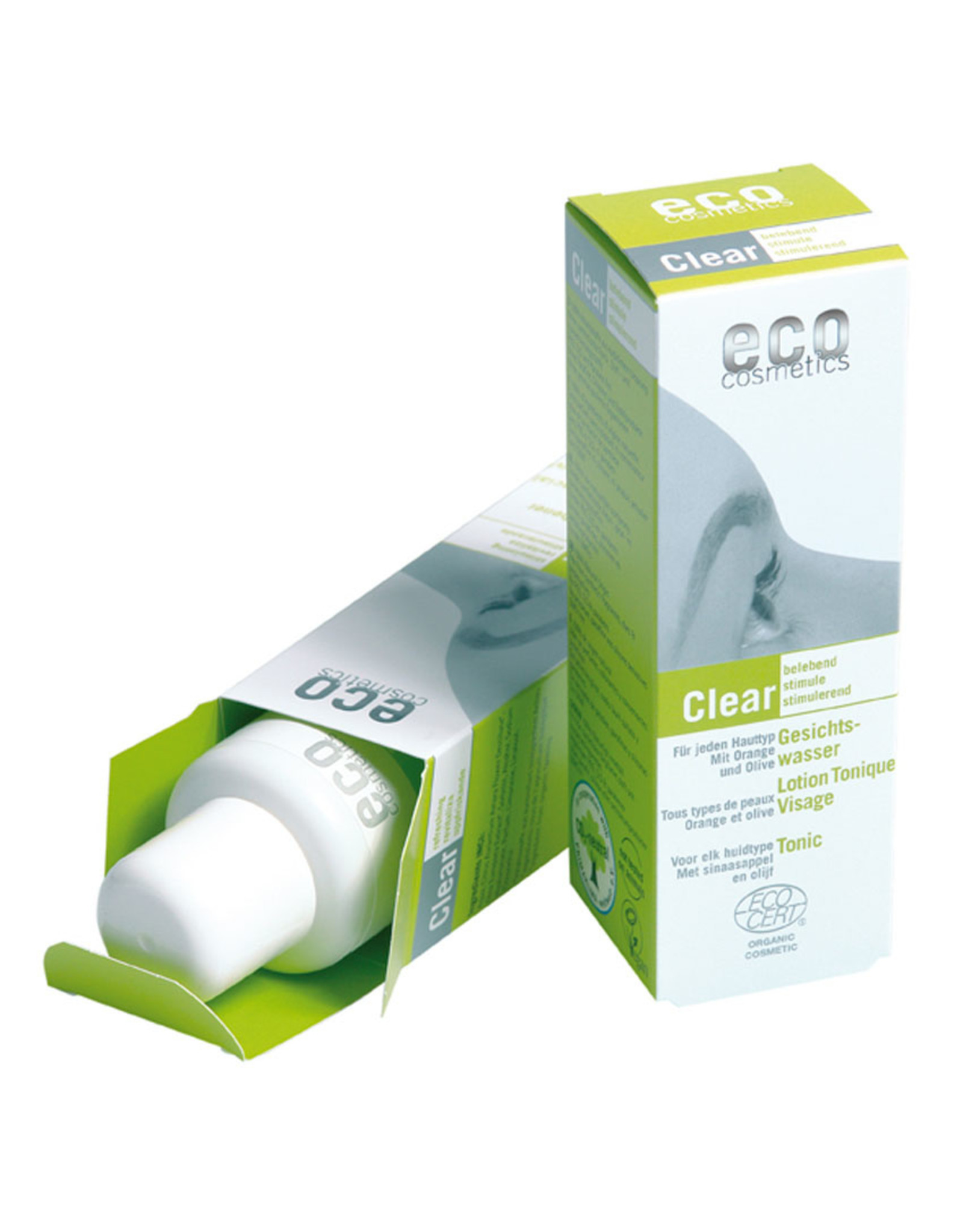 eco cosmetics Gesichtswasser Orange-Olive 100ml
